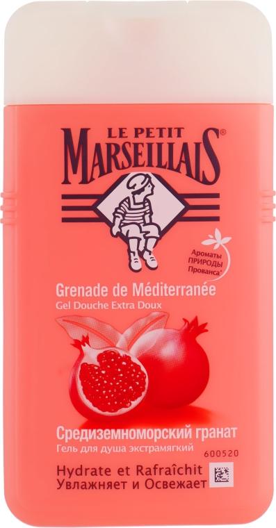 """Гель для душа """"Средиземноморский гранат"""" - Le Petit Marseillais Shower Gel"""