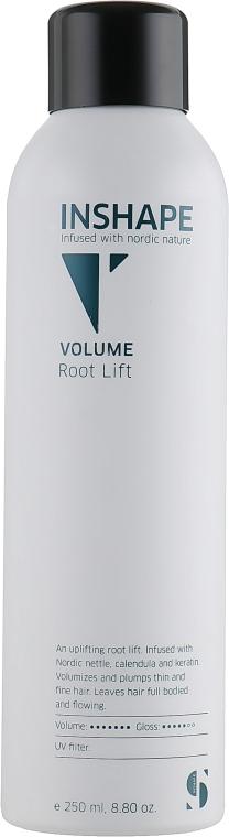 Спрей для прикорневого объема с экстрактом крапивы, календулы и кератином - Inshape Volume Root Lift