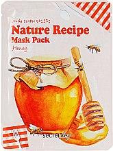 """Маска для лица тканевая """"C медом"""" - Secret Key Nature Recipe Mask Pack — фото N1"""