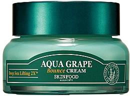 Духи, Парфюмерия, косметика Увлажняющий крем для лица с экстрактом морского винограда - SkinFood Aqua Grape Bounce Cream