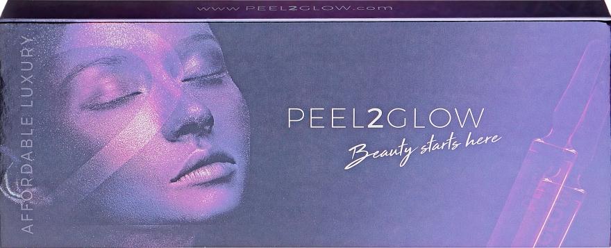 Набор для ухода за лицом - Skin Tech Peel2Glow Bringhtening & Filling (purifyer/5x1.5ml+glow/5x1.5ml)