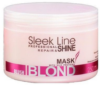 Маска для волос - Stapiz Sleek Line Blush Blond Mask