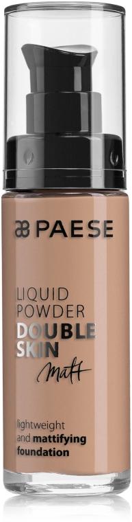 Тональный крем - Paese Liquid Powder Double Skin Matt