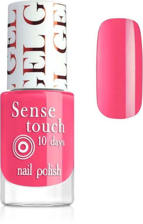 Лак гель-эффект - Jovial Luxe Sense Touch Gel Effect