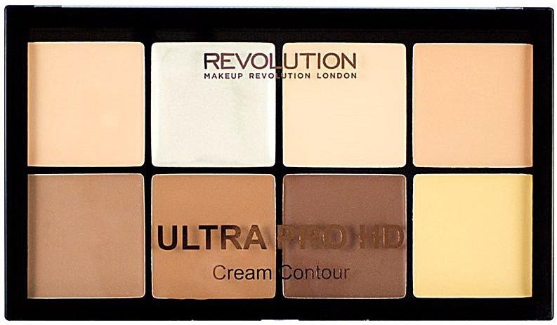 Палетка для контуринга лица - Makeup Revolution Ultra HD Pro Cream Contour