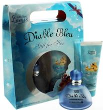 Духи, Парфюмерия, косметика Creation Lamis Diable Bleu - Набор (edp/100ml + sh/gel/100ml)