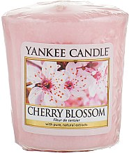 "Духи, Парфюмерия, косметика Ароматическая свеча ""Цветущая вишня"" - Yankee Candle Scented Votive Cherry Blossom"