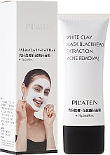 "Духи, Парфюмерия, косметика Маска для лица ""Белая глина"" - Pil'aten White Clay Mask Blackhead Extraction Acne Removal"