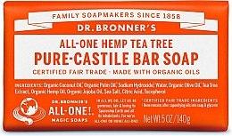 "Духи, Парфюмерия, косметика Мыло ""Чайное дерево"" - Dr. Bronner's Pure Castile Bar Soap Tea Tree"