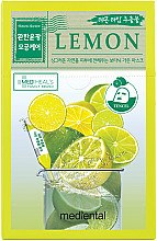 "Духи, Парфюмерия, косметика Маска для лица ""Лайм и лимон"" - Mediental Botanic Garden Mask"