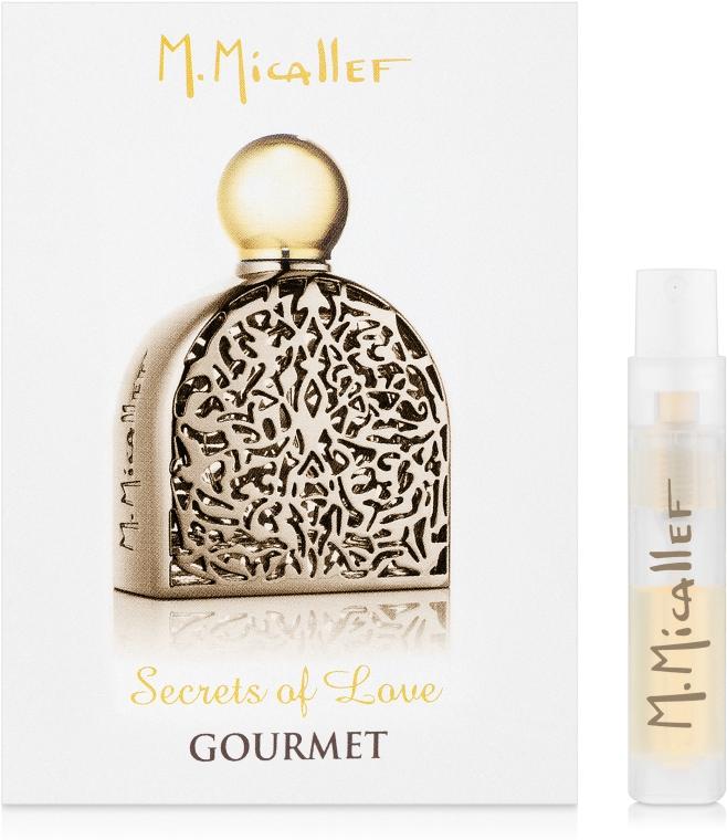 M. Micallef Secrets of Love Gourmet - Парфюмированная вода (пробник)