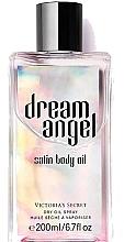 Духи, Парфюмерия, косметика Сухое сатиновое масло-спрей - Victoria's Secret Dream Angel