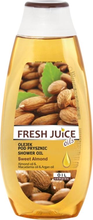 "Гель-масло для душа ""Сладкий миндаль"" - Fresh Juice Oils Sweet Almond — фото N3"
