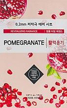 Духи, Парфюмерия, косметика Ультратонкая маска для лица с экстрактом граната - Etude House Therapy Air Mask Pomegranate