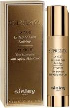 Духи, Парфюмерия, косметика Комплексный ночной крем-сыворотка с омолаживающим эффектом - Sisley Supremya At Night The Supreme Anti-Aging Skin Care