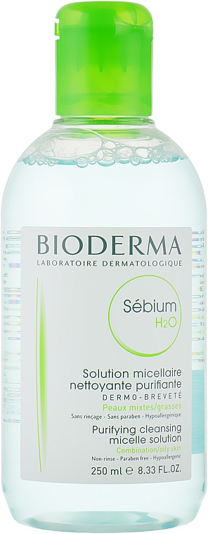 Мицеллярный лосьон - Bioderma Sebium H2O Micellaire Solution — фото N3