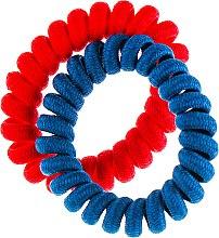 Духи, Парфюмерия, косметика Резинки для волос, 414802, синяя + красная - Inter-Vion Glamour