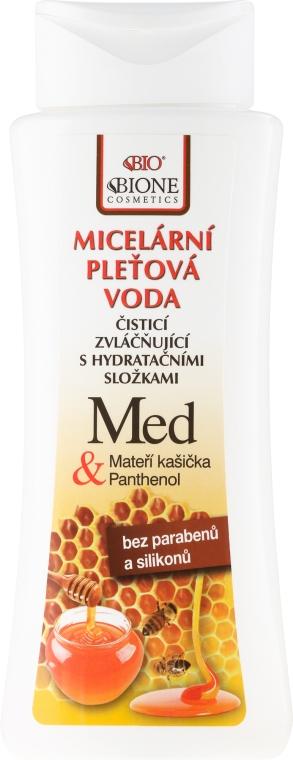 Мицеллярная вода - Bione Cosmetics Honey + Q10 Water — фото N1