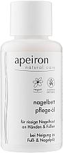 Духи, Парфюмерия, косметика Масло для рук и ногтей - Apeiron Nail Bed Oil