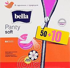 Духи, Парфюмерия, косметика Прокладки Panty Soft Deo Fresh дышащие, 60шт - Bella