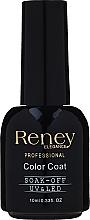 Духи, Парфюмерия, косметика Топ для гель-лака с блестящими частицами - Reney Cosmetics Professional Top Super Shimmer No Wipe Color Coat Soak-Off UV & LED