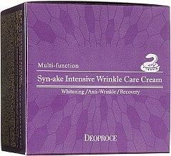 Духи, Парфюмерия, косметика Крем для лица со змеиным ядом - Deoproce Syn-Ake Intensive Wrinkle Care Cream