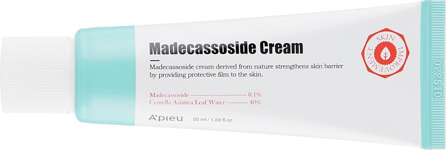 Восстанавливающий крем с мадекассосидом для лица - A'pieu Madecassoside Cream — фото N2