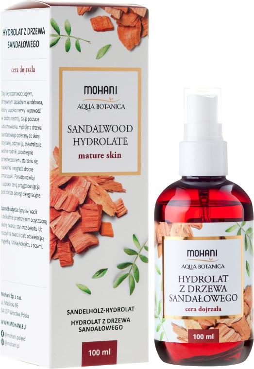 "Гидролат ""Сандаловое дерево"" - Mohani Natural Sandalwood Hydrolate — фото N1"
