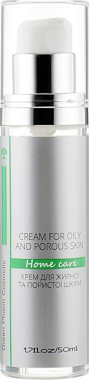 Крем для жирной и пористой кожи - Green Pharm Cosmetic Cream For Oily And Porous Skin PH 5,5