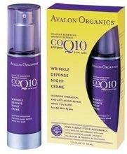 """Духи, Парфюмерия, косметика Крем для защиты от морщин """"Коэнзим Q10"""" - Avalon Organics CoQ10 Repair Wrinkle Defense Creme-Broad Spectrum SPF 15"""