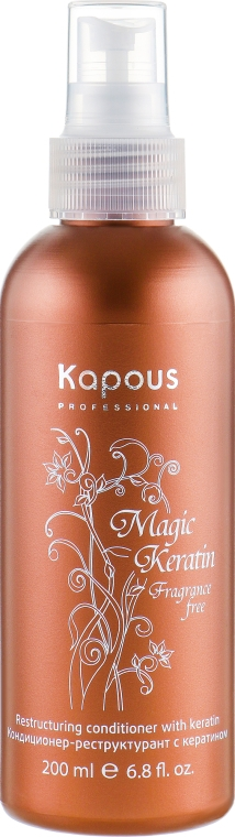 Кондиционер-реструктурант с кератином - Kapous Professional Air-Restrukturant Keratin Magic Keratin — фото N1