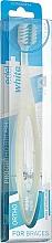Духи, Парфюмерия, косметика Ортодонтическая зубная щетка, белая - Edel+White Pro Ortho Toothbrush