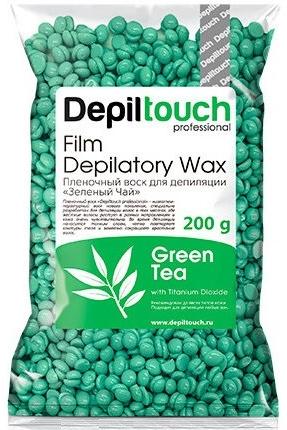 """Пленочный воск """"Зеленый чай"""" в гранулах - Depiltouch Green Tea Vax"""