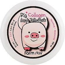 Духи, Парфюмерия, косметика Ночная увлажняющая маска со свинным коллагеном - FarmStay Pig Collagen Aqua Jelly Pack