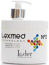 Духи, Парфюмерия, косметика РАСПРОДАЖА Средство для реконструкции волос №2 - Lecher Lexmed Technology №2 Nutritin*