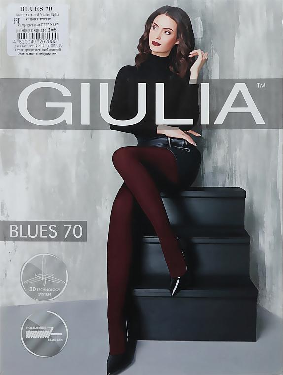 """Колготки для женщин """"Blues 3D"""" 70 Den, deep navy - Giulia"""