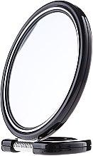 Духи, Парфюмерия, косметика Зеркало двустороннее круглое 9509, на подставке, черное, 18,5 см - Donegal Mirror