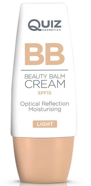 Тональный BB-крем - Quiz Cosmetics BB Beauty Balm Cream SPF15