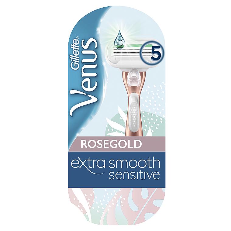 Бритва с 1 сменной кассетой - Gillette Venus RoseGold Extra Smooth Sensitive
