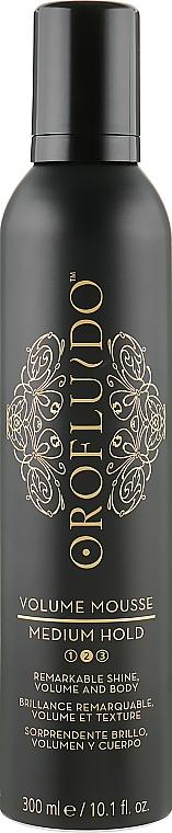 Мусс для объема волос средней фиксации - Orofluido Styling Volume Mousse