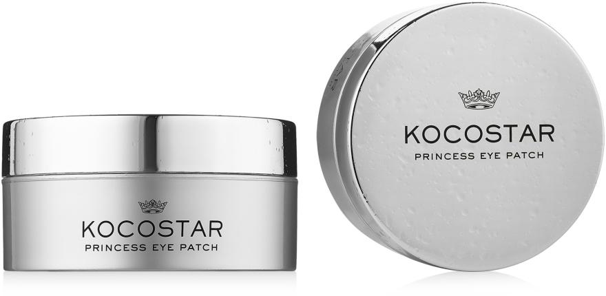 Гидрогелевые патчи для глаз, серебряные - Kocostar Princess Eye Patch Silver