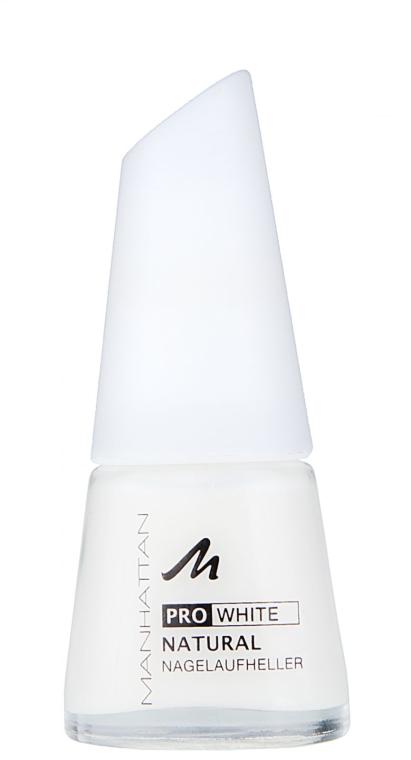 Средство для отбеливания ногтей - Manhattan Pro White Natural Nagelaufheller
