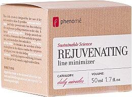 Духи, Парфюмерия, косметика Крем для сухой и чувствительной кожи - Phenome Sustainable Science Rejuvenating Line Minimizer