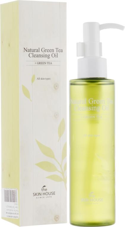 Гидрофильное масло с экстрактом зелёного чая - The Skin House Natural Green Tea Cleansing Oil