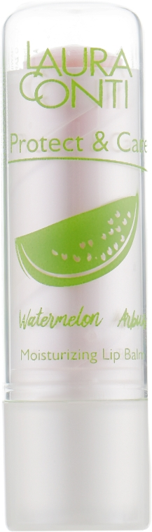 "Бальзам для губ ""Арбуз"" - Laura Conti Moisturizing Lip Balm Watermelon"