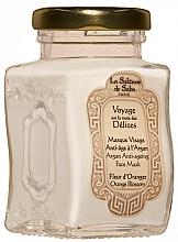 Духи, Парфюмерия, косметика Маска для лица - La Sultane De Saba Bio Argan & Orange Blossom Argan Anti-Ageing Face Mask Orange Blossom