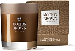 Духи, Парфюмерия, косметика Свеча с одним фитилем - Molton Brown Black Peppercorn Single Wick Candle