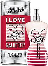 Духи, Парфюмерия, косметика Jean Paul Gaultier Classique I Love Gaultier Eau Fraiche - Туалетная вода