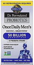 Духи, Парфюмерия, косметика Пробиотики для мужчин, капсулы - Garden of Life Dr. Formulated Probiotics