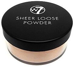 Духи, Парфюмерия, косметика Рассыпчатая пудра для лица - W7 Sheer Loose Powder